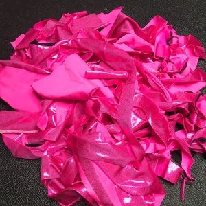 👻 1lb Pink Metallic Fringe Fabric Sewing Cosplay